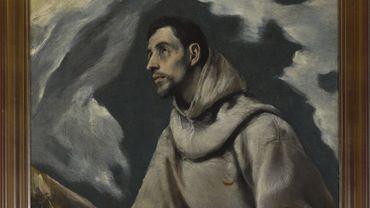 """""""L'Extase de saint François d'Assise"""" d'El Greco"""