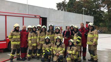 Les pompiers namurois accueillent leurs collègues de Namur au Québec