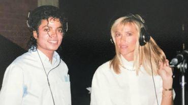 Michael Jackson et la Belge Christine Decroix.
