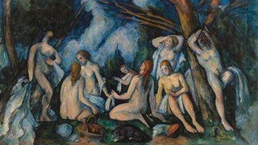 Paul Cézanne. Les Grandes baigneuses, 1895–1906. BF934.