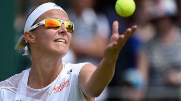 Flipkens, 85e, gagne sept places au classement WTA