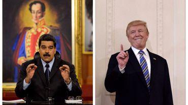 """Trump menace le Venezuela de """"mesures économiques"""" fortes et rapides"""