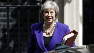 La Première ministre britannique, Theresa May, le 18 juillet 2018