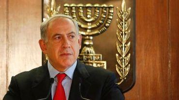 Le Premier ministre israélien Benjamin Netanyahu le 22 juillet 2013 à Jérusalem