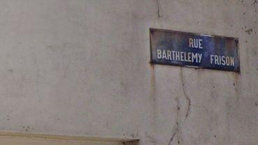 C'est à la rue Barthélemy Frison que les dealers présumés ont été arrêtés