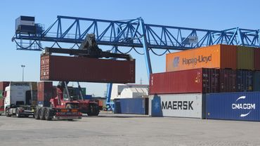 Le Port autonome de Liège a enregistre au premier semestre une forte augmentation de son trafic de conteneurs