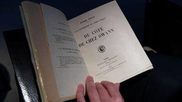 Une édition rarissime de Proust vendue plus d'un demi-million d'euros