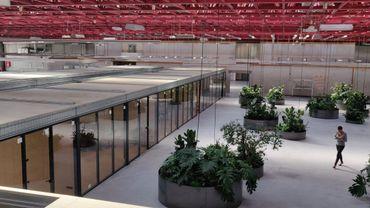 Un très grand espace dédié aux entreprises de la région de Charleroi