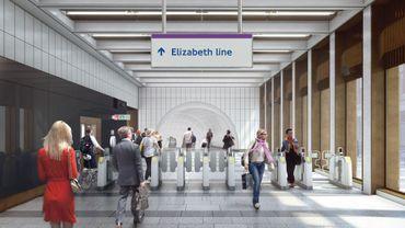Nouvelle ligne Elizabeth du métro londonien
