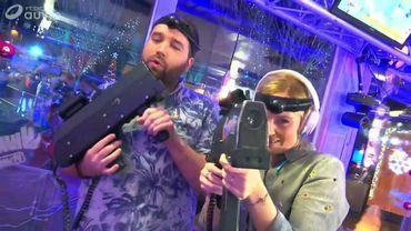Laser Game entre le Cube et la Grand Place de Nivelles