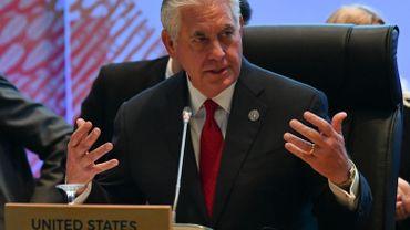 Le chef de la diplomatie américaine, Rex Tillerson