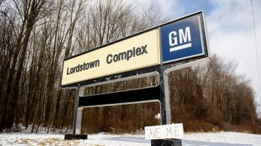 Le site de l'usine d'assemblage de Lordstown de GM
