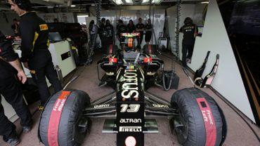 Grand Prix F1: les voitures de l'écurie Lotus toujours bloquées par la Justice