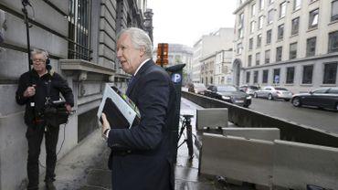 Daniel Bacquelaine, ministre fédéral des Pensions