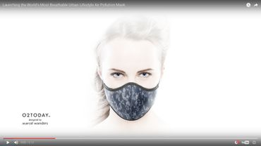 Le O2TODAY™ mask par Marcel Wanders.