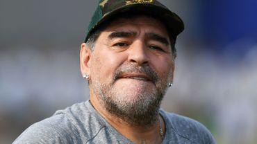Diego Maradona futur coach et président de Marvin Ogunjimi au Belarus