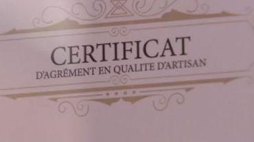 Havelange: une restauratrice obtient le statut d'artisan