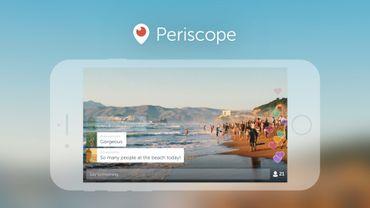 Periscope introduit le mode paysage dans sa dernière mise à jour.