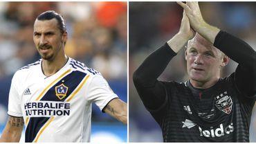 Rooney et Ibrahimovic en lice pour le trophée de meilleur joueur de MLS