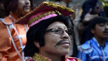 Mexico tente de battre le record de personnes déguisées en Beatles