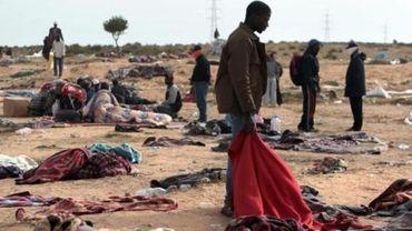 Des migrants noyés inhumés dans l'anonymat dans une petite ville de Libye.