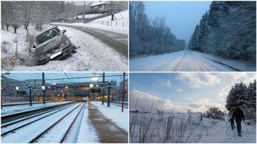 La neige a recouvert la Belgique: bus TEC déviés ou supprimés, TGV ralentis…