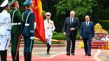 Le mois dernier, Scott Morrison est devenu le premier Premier ministre australien à se rendre au Vietnam deuis 25 ans.