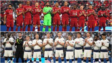 Liverpool et Tottenham, finalistes durant la saison 2018-2019