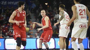 Charleroi bat Anvers et retrouve la 3ème place