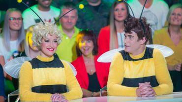 Maya L'abeille et son ami Willy