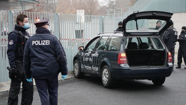 Car crashes into gate of Merkel's chancellery in Berlin