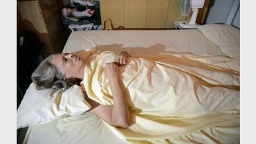 La dissidente Marta Beatriz Roque, le 13 septembre 2012 à La Havane pendant sa grève de la faim