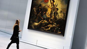 """""""La liberté guidant le peuple"""" de Delacroix vandalisée au Louvre-Lens"""