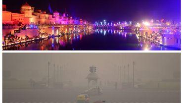 Après la fête des lumières de Diwali, Delhi se réveille dans la pollution