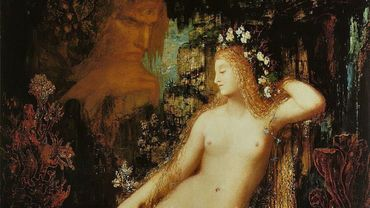 Galatée par Gustave Moreau