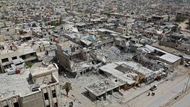 Douma, le 17 avril 2018.