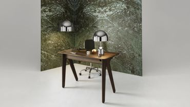 """Slab desk"" par Tom Dixon."