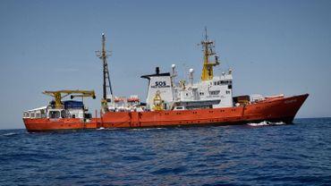 Selon le site de suivi du trafic maritime, Marine Traffic, l'Aquarius et le Dattilo se trouvaient jeudi matin au large de la côte sud-est de la Sardaigne.