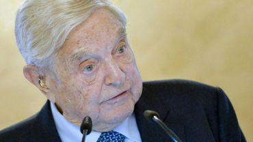 Le milliardaire-philanthrope George Soros à Vienne, le 19 novembre 2018