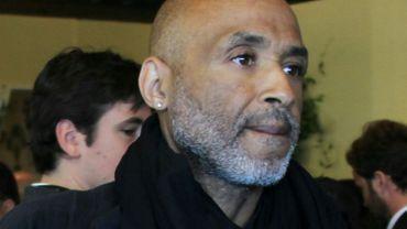 Le photojournaliste américain Stanley Greene, le 16 mai 2010 à Cannes