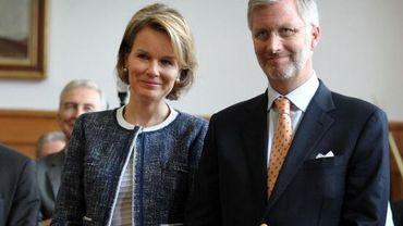 La princesse Mathilde et le Prince Philippe