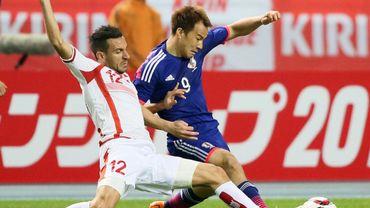 Le Japon bat la Tunisie de Georges Leekens