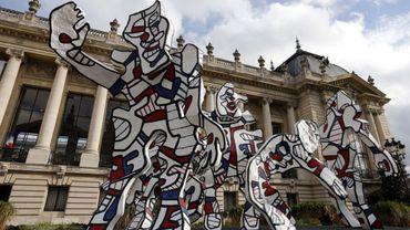 La Parade de Jean Dubuffet devant le Petit Palais