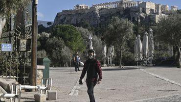 Coronavirus en Grèce: le confinement prolongé jusqu'au 8mars