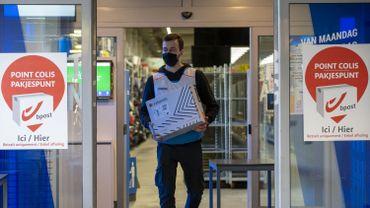 Bpost livrera les colis non récupérés dans ses points d'enlèvement après cinq jours