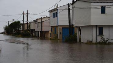 Inondations à Gruissan