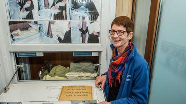 L'association Moeder voor Moeders a accueilli son dixième bébé dans la boîte.