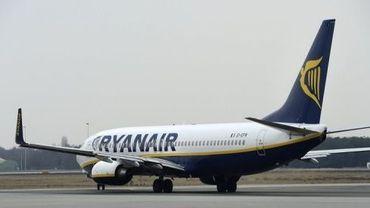 Un avion de la compagnie aérienne Ryanair