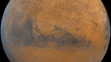 Un nouveau gaz détecté sur Mars