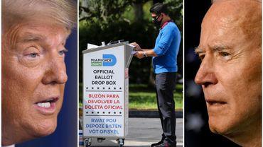 Les votes par correspondance pourraient être la clé de voûte de l'élection américaine 2020